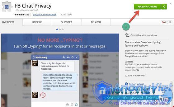 Cách Đọc Tin Nhắn Facebook nhưng không hiện đã xem 13
