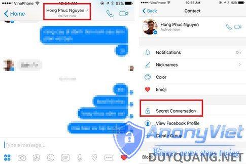 fb unro - Tin nhắn tự huỷ trong Facebook Messenger