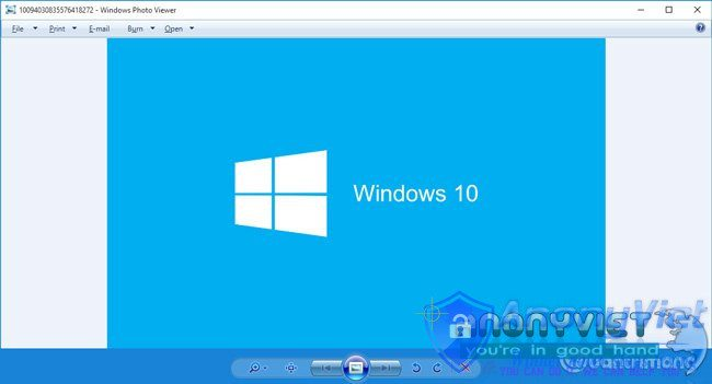 Windows Photos Viewer Win 10