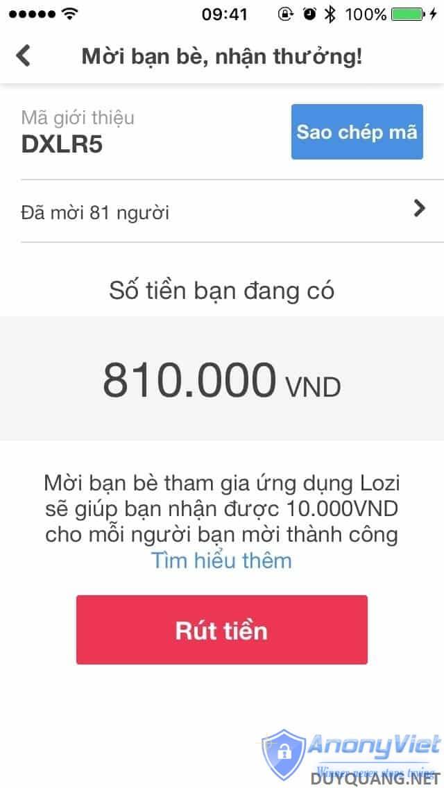 fullsizeoutput 873 - Hướng dẫn kiếm tiền với App Lozi trên điện thoại (Lozi đã lừa đảo)