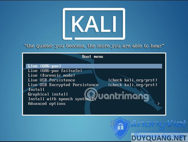 Cài đặt và sử dụng Kali Linux trên VmWare 87