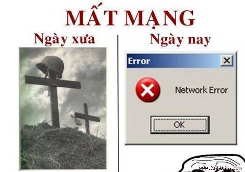 Mất mạng Internet