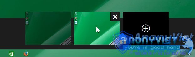 mo thanh task xem desktops ao trong windows 10 - Sử dụng Desktop ảo trong Windows 10 chuyên nghiệp