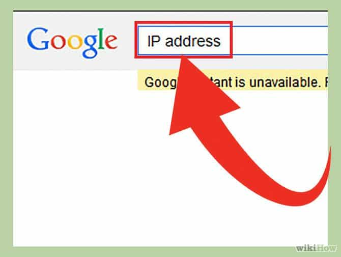Gõ IP address