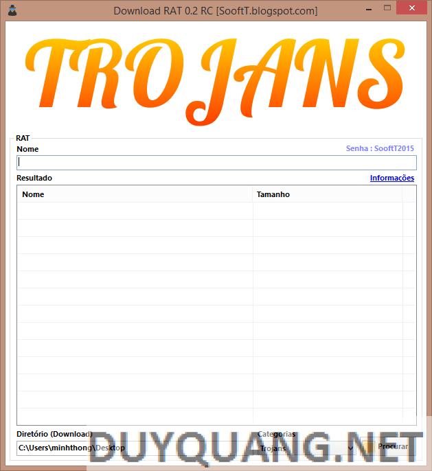 s 1 - Phần mềm hỗ trợ Tìm và Tải Virus, Rat, Trojan cực an toàn