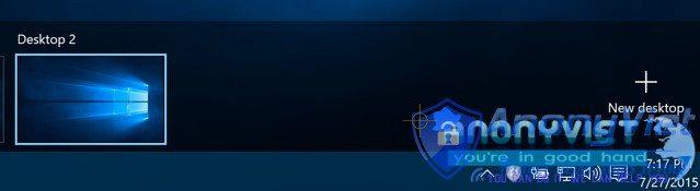 Tạo Desktops ảo trong Windows 10