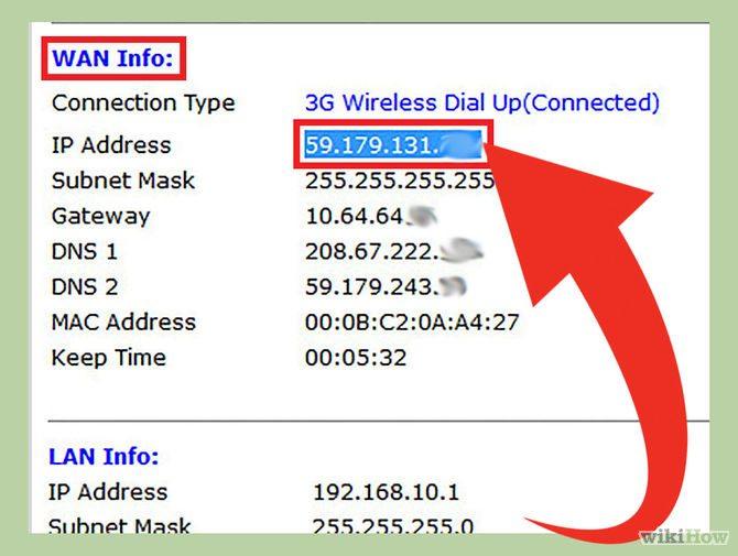 Tìm địa chỉ IP của bạn