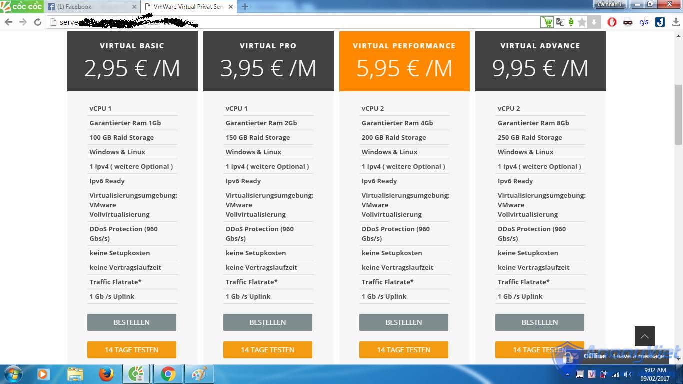 3 1 1 - Cách đăng ký VPS miễn phí RAM 8GB dùng 14 ngày