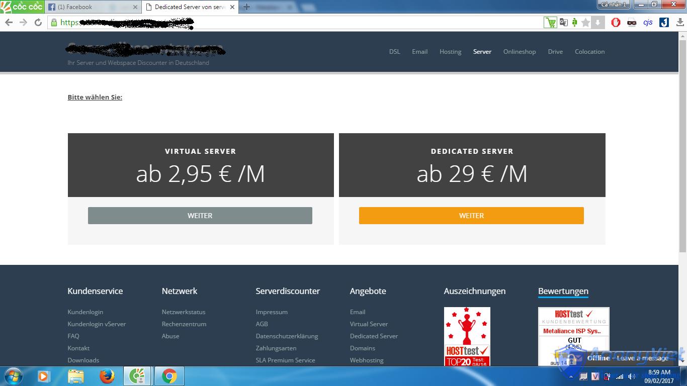 3 1 - Cách đăng ký VPS miễn phí RAM 8GB dùng 14 ngày