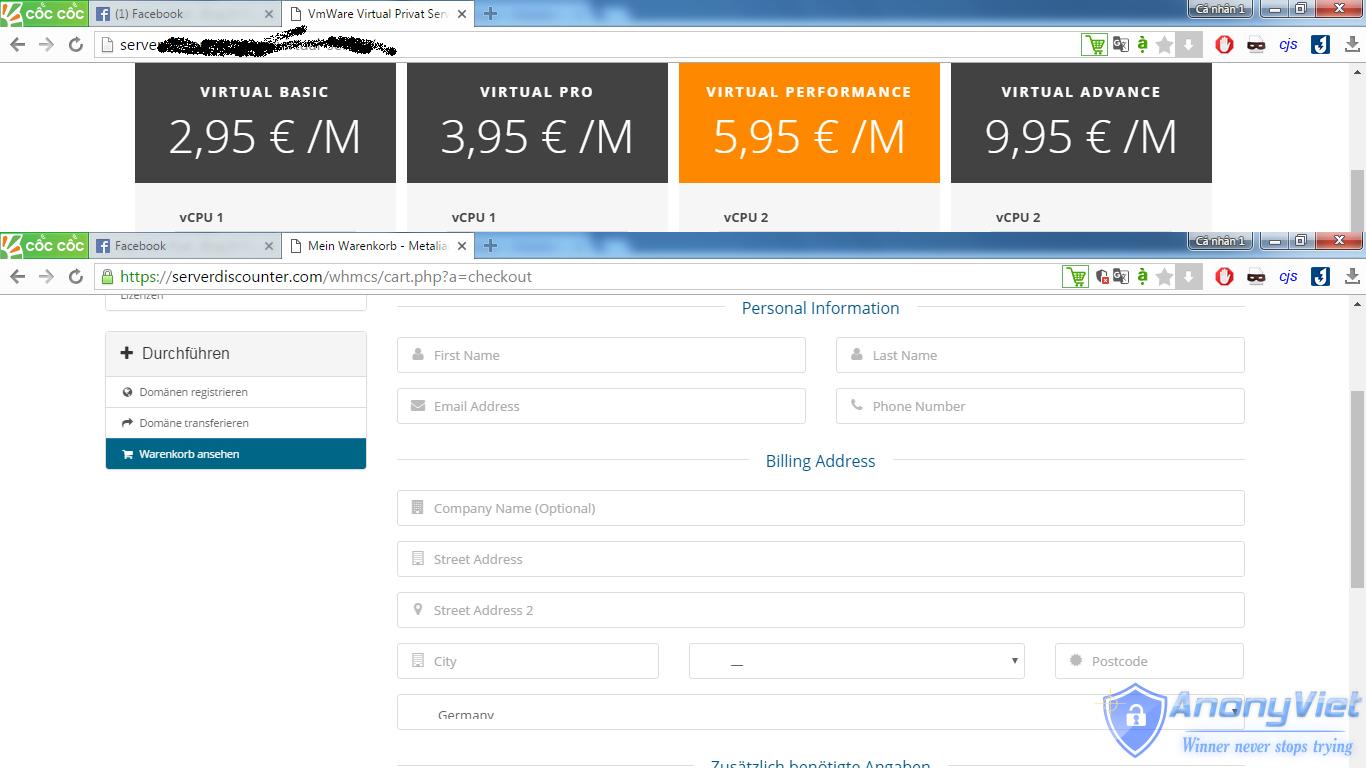 Cách đăng ký VPS miễn phí RAM 8GB dùng 14 ngày 19