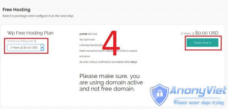 Đăng ký Host 2 năm miễn phí có SSD và DDOS Protection 31