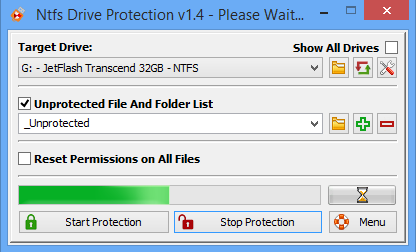 NTFS Drive Protection-2