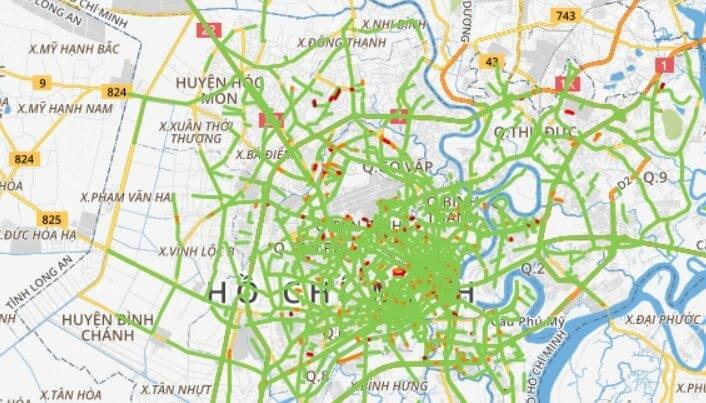 Hướng dẫn xem bản đồ số và hệ thống camera giao thông trực tiếp tại TP. HCM 7