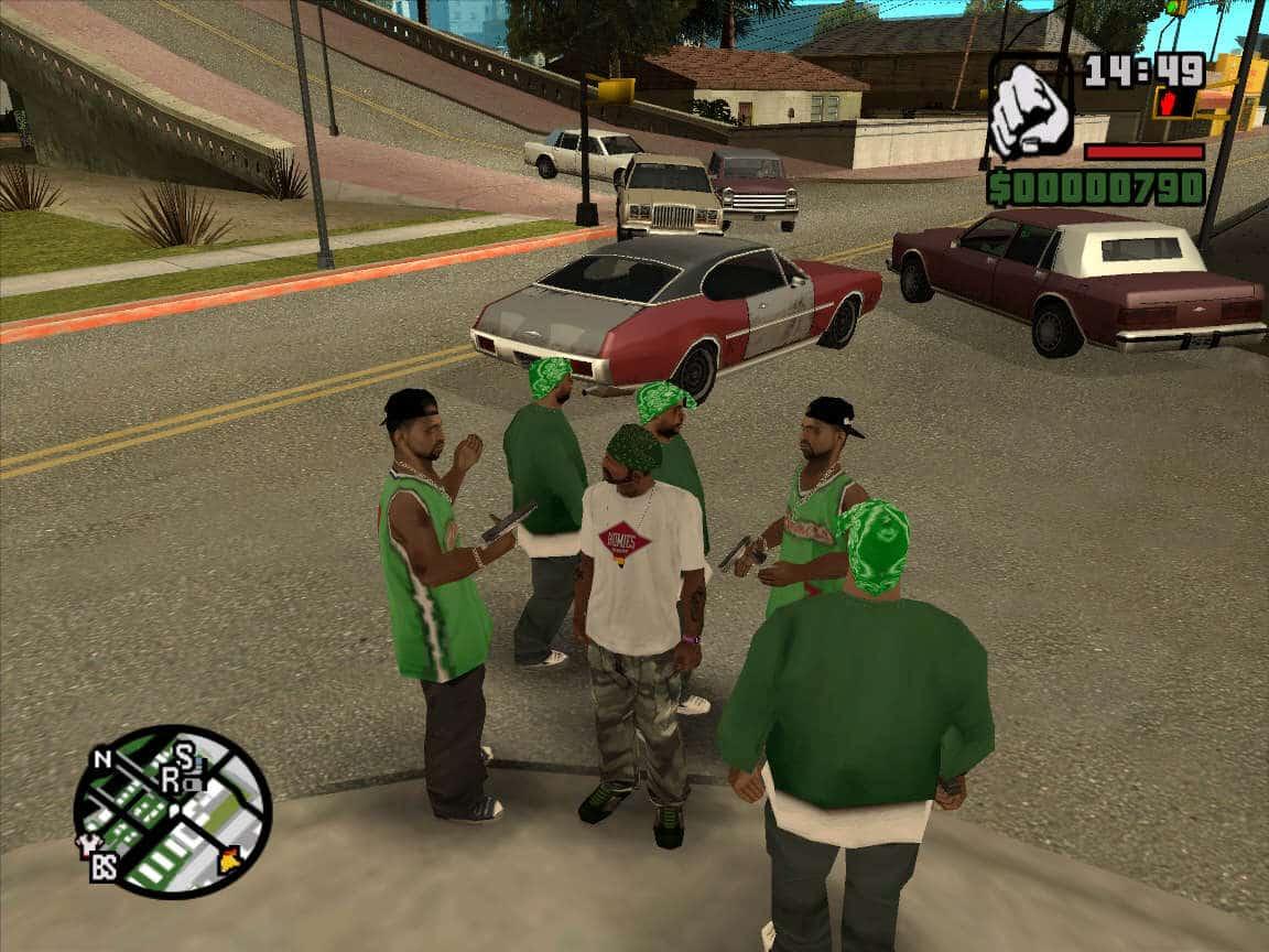 gta san andreas 3 - Tải GTA San Andreas bản gốc full âm thanh