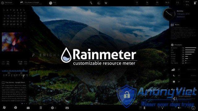 Hướng dẫn tự tùy biến giao diện Windows với Rainmeter 43