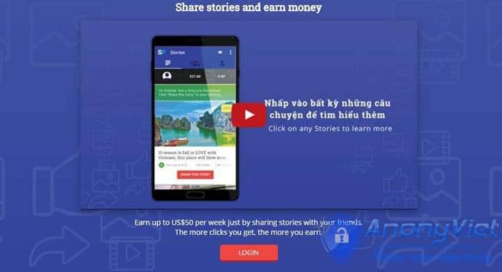 1 - Hướng dẫn kiếm tiền Online với SharePong do báo VNExpress giới thiệu