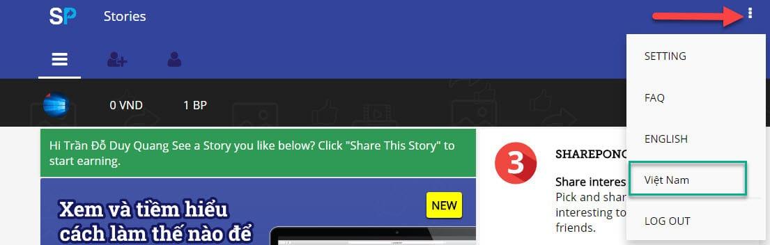 2 2 x - Hướng dẫn kiếm tiền Online với SharePong do báo VNExpress giới thiệu