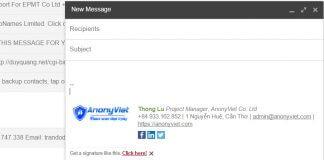 Hướng dẫn tạo chữ ký Email một cách chuyên nghiệp 6