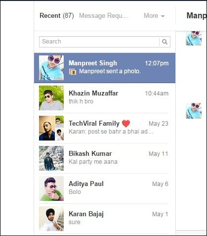 Delete All Facebook Messages At Once 3 - Xóa toàn bộ tin nhắn Facebook bằng 1 cú click