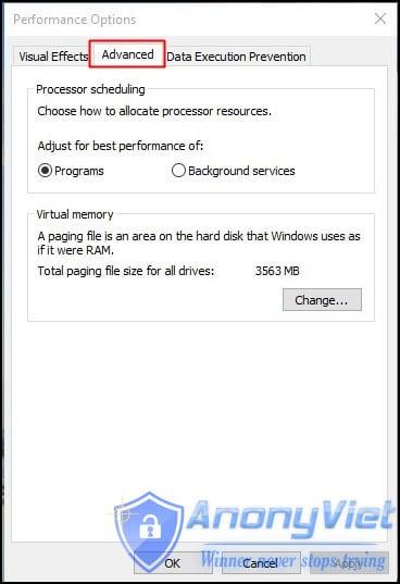 Ảo Ram Concept Đối với Windows