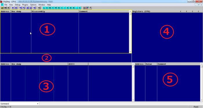 OllyDBG TongQuan 700x372 - Hướng dẫn sử dụng OllyDBG dùng để crack phần mềm
