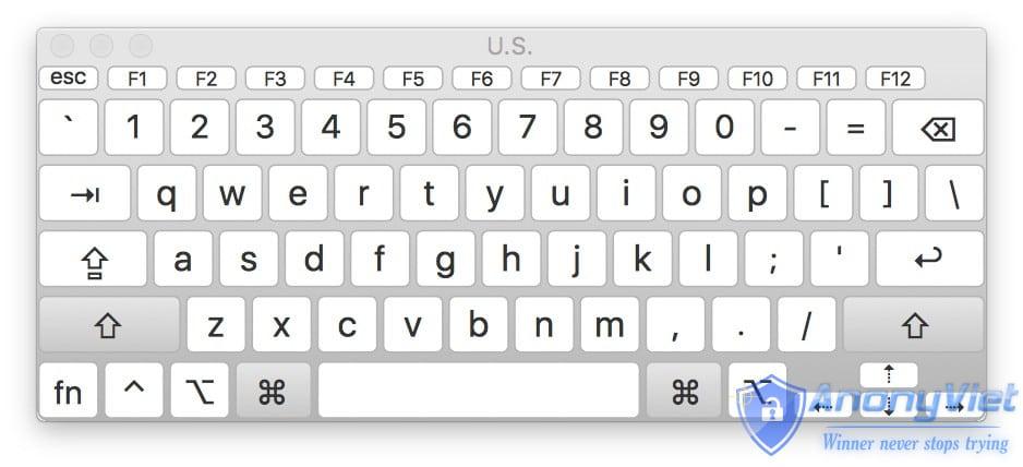 ban phim ao mac 3 - Kích hoạt bàn phím ảo trên máy tính của bạn
