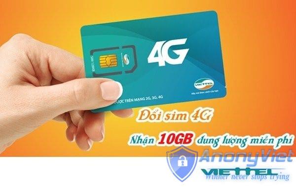 Cách để nhận ngay 10 GB data tốc độ cao khi đăng ký 4G