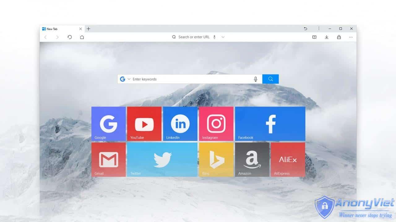 cyifP - UC Browser trình duyệt nên dùng cho Windows 10