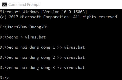 2 1 - Hướng dẫn tự viết Virus cực mạnh phá Windows