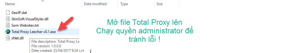 2 1 - Tool Get Proxy của thành viên Anonymous