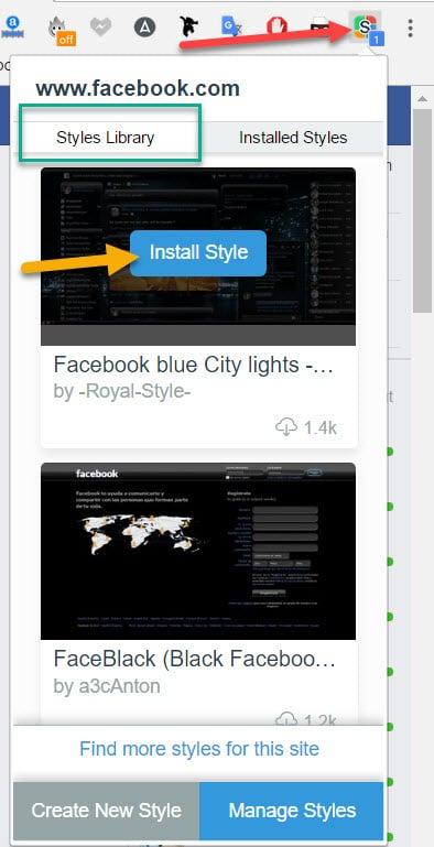 Cách thay đổi giao diện Facebook cực đẹp 10