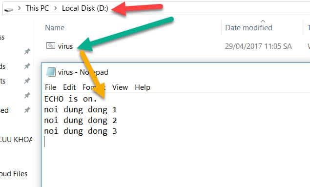 Hướng dẫn tự viết Virus cực mạnh phá Windows 15