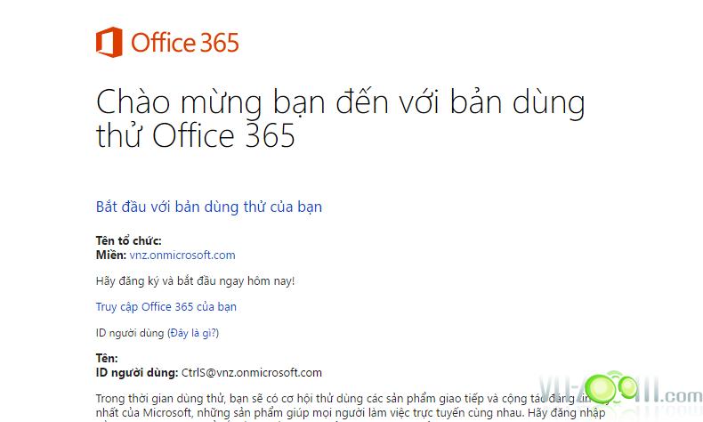 Đăng ký nhanh Office 365 Enterprise E3 Developer 1 Năm và Onedrive 5TB 20