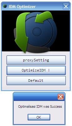 IDM Optimizer 1 - Hướng dẫn tăng tốc Download IDM với IDM Optimizer