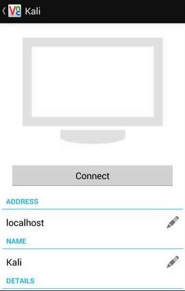 connect - Hướng Dẫn Cài Đặt Kali Linux Trên Android