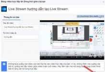 Hướng dẫn Live Stream Facebook trên màn hình máy tính 8