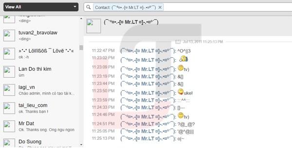xem toan bo lich su tin nhan yahoo cua 1 nick chat truoc nam 2000 den nay - Tuyệt chiêu đọc lại tin nhắn Yahoo ngày xưa