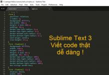 Tải Sublime Text 3 Full Key - Phần mềm viết code lập trình toàn diện 1