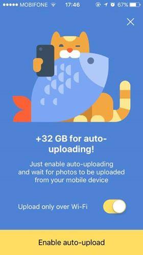 Hướng dẫn nhận 42GB lưu trữ miễn phí của Yandex.Disk 13