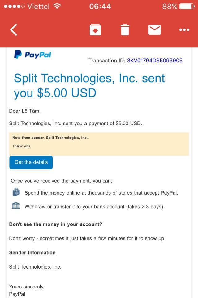 Kiếm 5$ Paypal trong 3 phút với Iphone 16