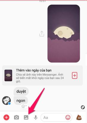 Messenger cho phép gửi ảnh HD - Chất Lượng Cao 11