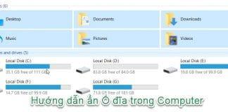 Hướng dẫn ẩn Ổ đĩa bằng CMD 1