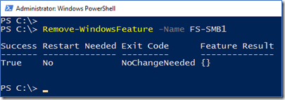 Server PowerShell method