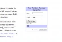Cách gian lận kết quả tại RANDOM.ORG