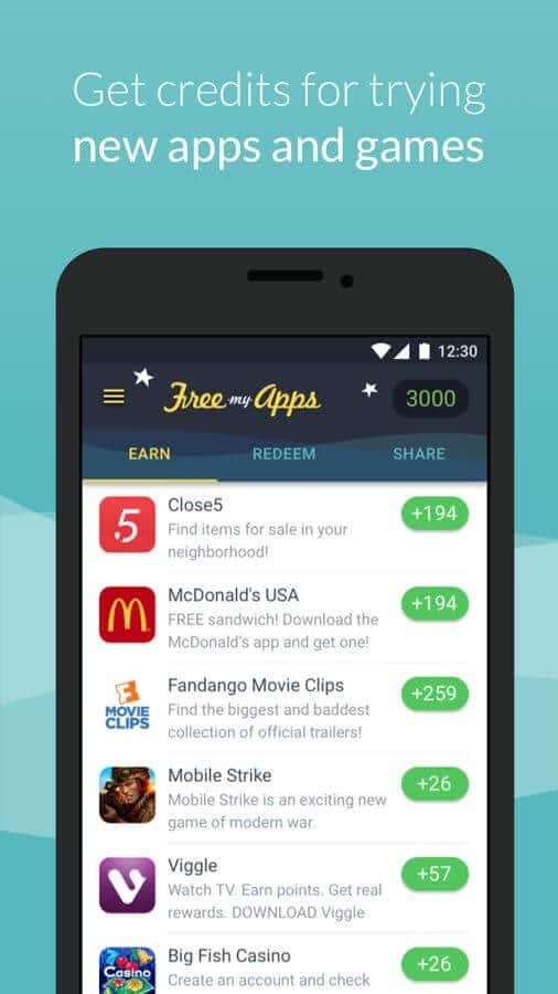 Thử các ứng dụng và trò chơi mới cho các khoản tín dụng
