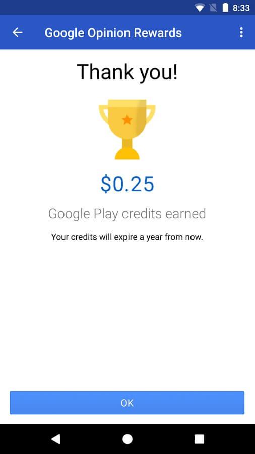 Kiếm được khoản tín dụng Google Play