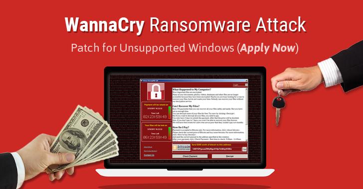 wannacry ransomware decrypt unlock files - Hướng dẫn cách phòng tránh Ransomware WannaCry chi tiết nhất