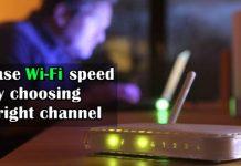 Wifi của bạn sẽ mạnh hơn nếu chọn đúng Channel 1