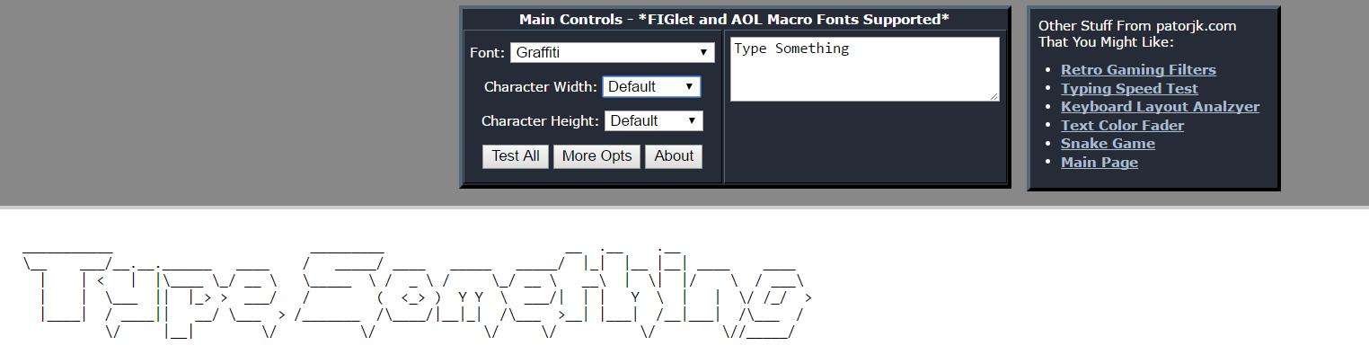 Chuyển hình ảnh thành mã ASCII 22