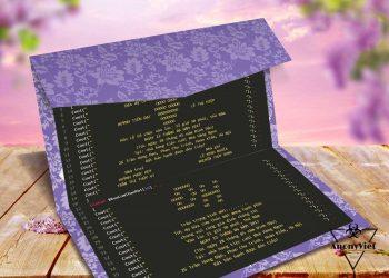 Share code thiệp mời đám cưới bá đạo của lập trình viên 1